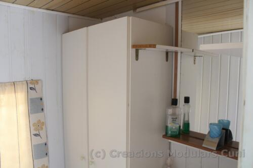 15 mobile home con baño