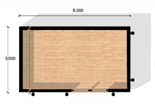 3 X 5  modular gama alta   . 2