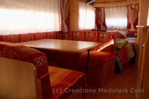5 caravana 3 ambientes