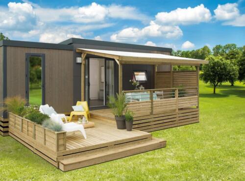 2 - Terrasse All Inclusive N°1CPV - Longueur  7m50 - 2 niveaux de plancher-2018