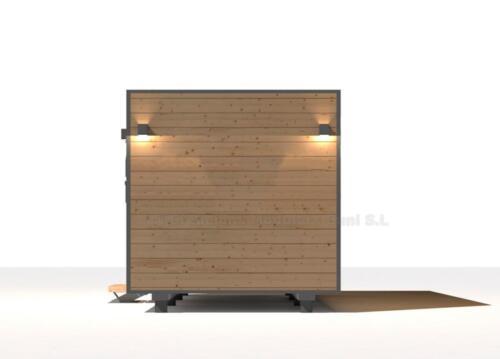 Mobilhome de madera 5x3 5