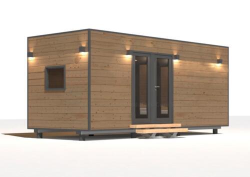 Mobilhome de madera 5x3 6