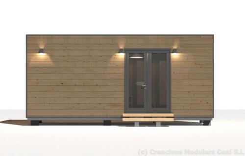 Mobilhome de madera 6x3 3