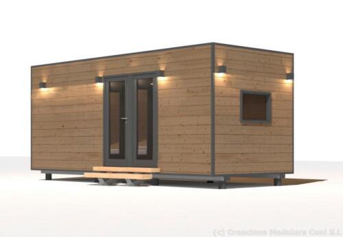 Mobilhome de madera 6x3 6