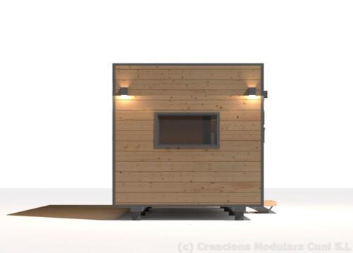 Mobilhome de madera 7x3 2
