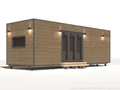 Mobilhome de madera 7x3 3