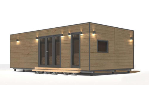 mobilhomes 8x3  48 m2 3 habitaciones 1