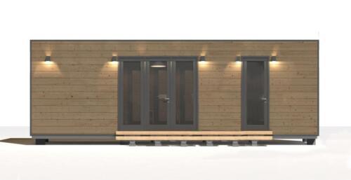 mobilhomes 8x3  48 m2 3 habitaciones 3
