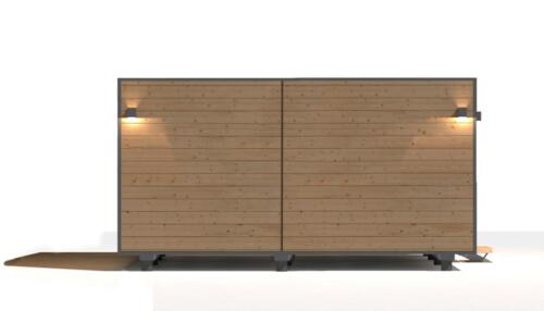 mobilhomes 8x3  48 m2 3 habitaciones 5