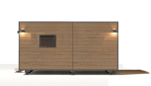 mobilhomes 8x3  48 m2 3 habitaciones 6