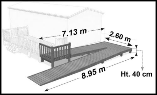 11 - Rampe PMR Zig-Zag-plan 3D